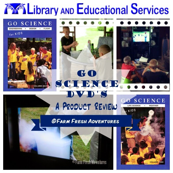 go science dvds product review