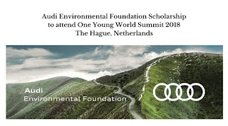 Scholing van de Audi Environmental Foundation 2018