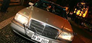 fotos carro noivos casamento