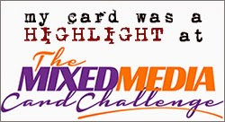 The Mixed Media Card Challenge