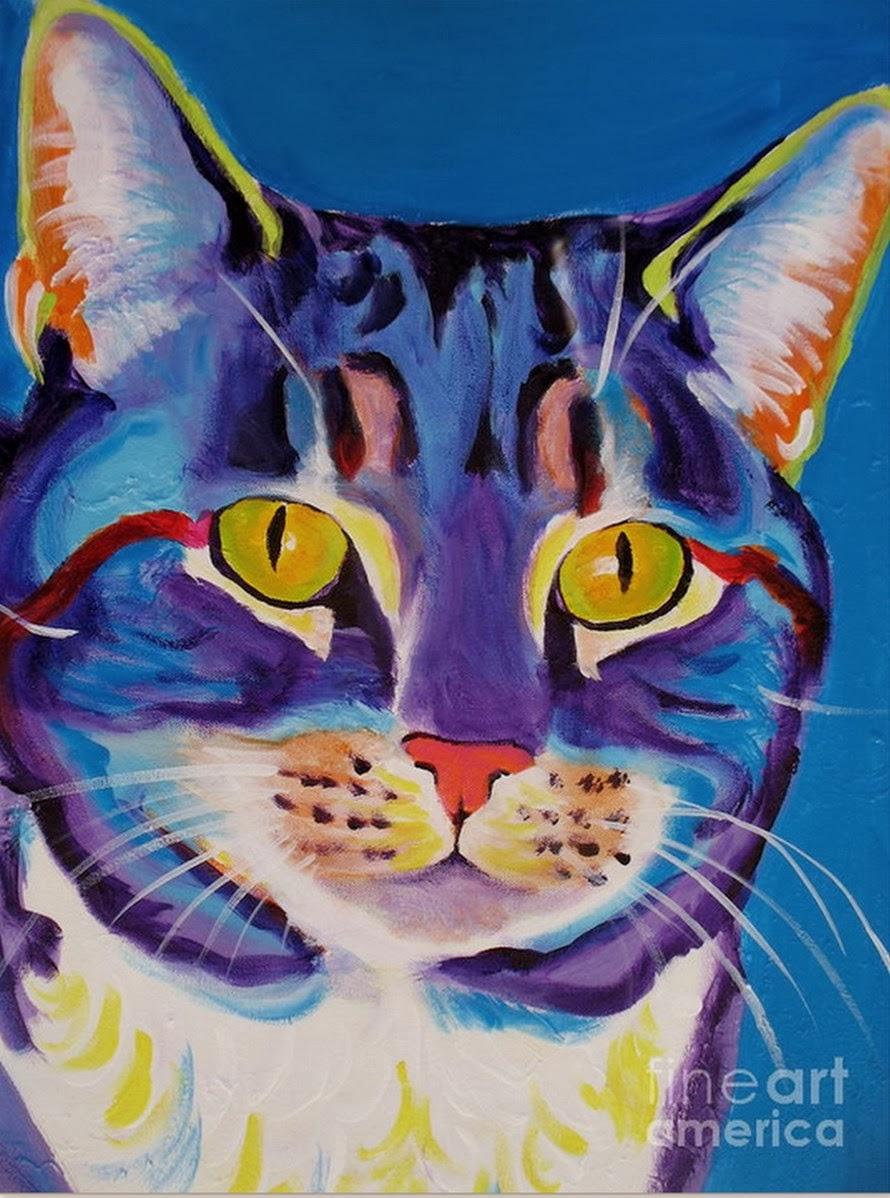 Cuadros modernos pinturas y dibujos como perros y gatos - Ver cuadros modernos ...