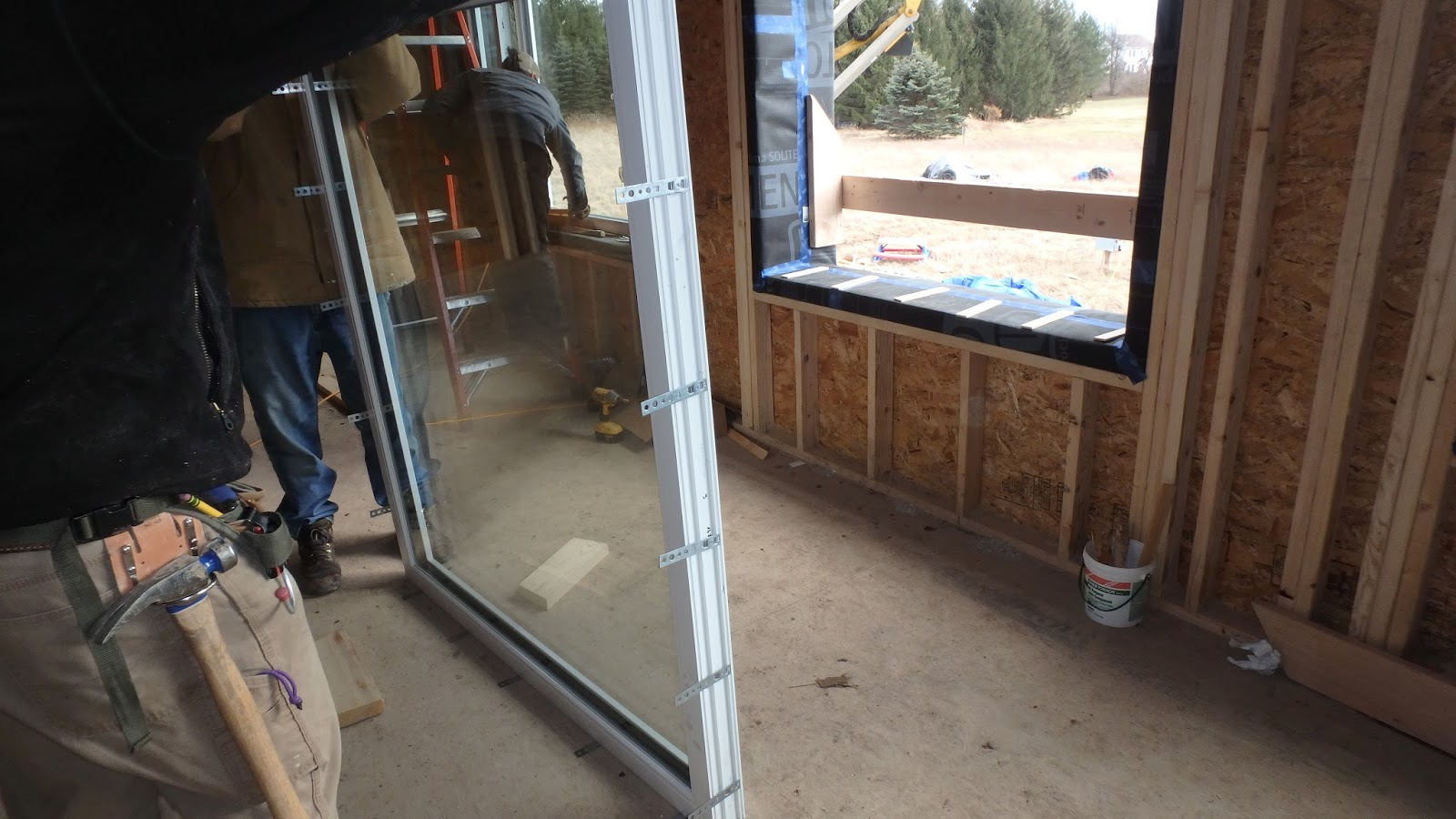 Rochester passive house window and door installation for Window installation