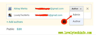 blog ko dusre email par transfer kaise