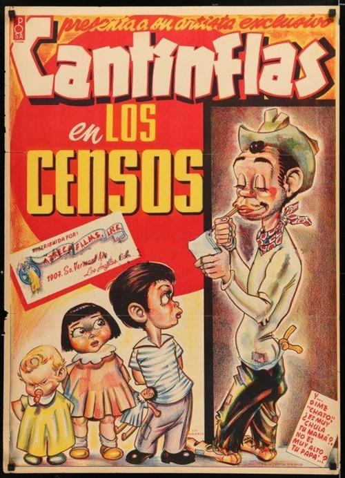 Cantinflas Y Los Censos - 1940