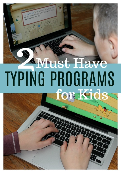 Two MUST HAVE Typing Programs for Kids