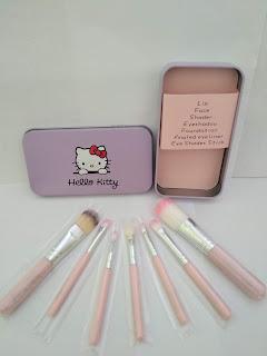 Kuas Hello Kitty Kuas Make Up Kuas 7in1 Kosmetik Ecer Grosir
