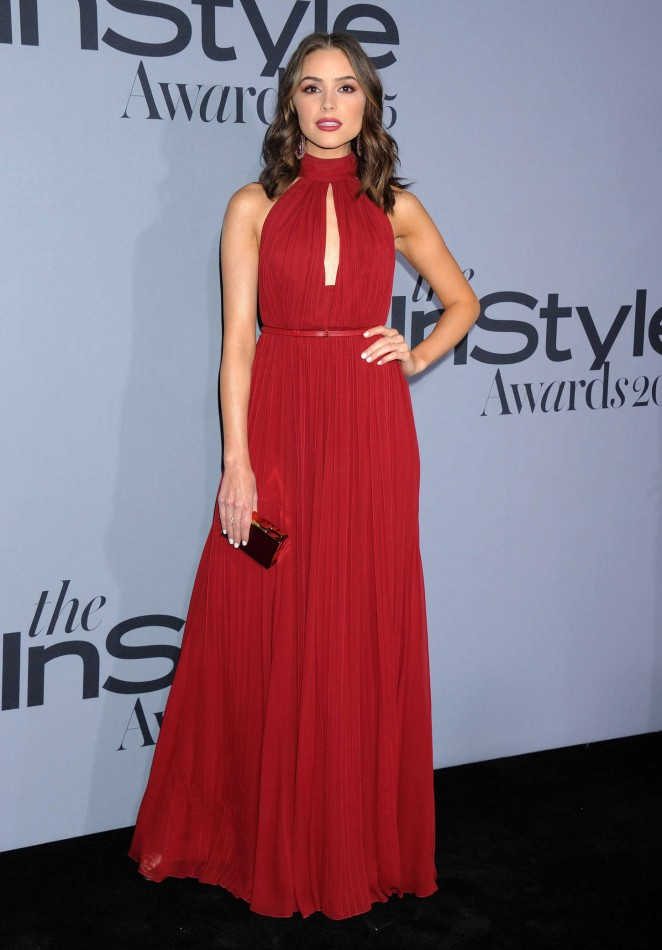 Olivia Culpo is red hot at the InStyle Awards 2015