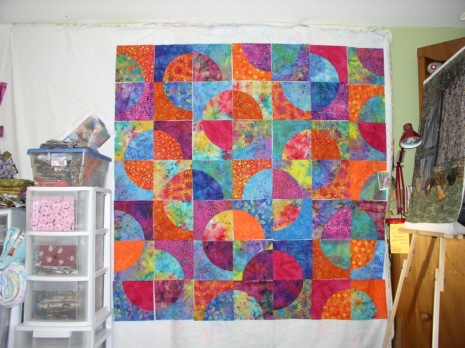 Drunkards Path Quilt Pattern Free Patterns