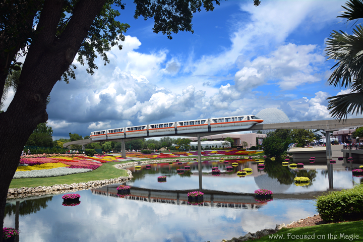 Silent Sunday ~ Epcot Monorail on a beautiful sunny day