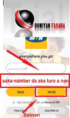 Yadda za'a sami kyautar MB Dari Biyar (500 MB) A Layin MTN