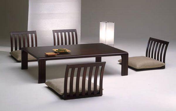 Hogares frescos comedor japon s muebles de sala con un estilo minimalista japon s for Muebles de oficina estilo minimalista