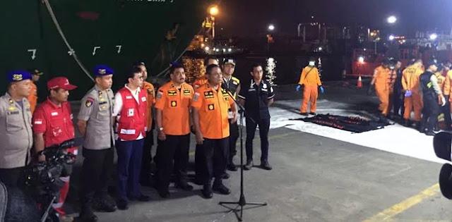Hari Kedelapan Korban Lion Air Yang Ditemukan Mencapai 164 Kantong Jenasah
