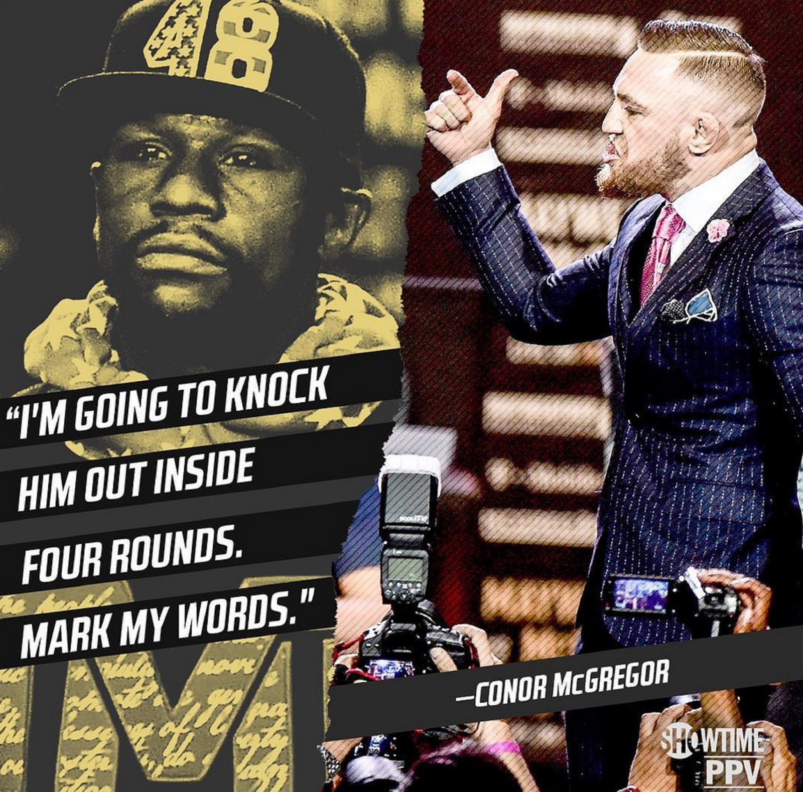 FLOYD MAYWEATHER VS. CONOR MCGREGOR 15