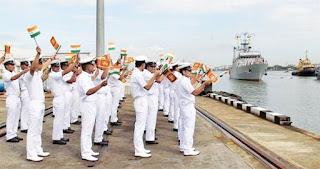 Indo-Lanka Maritime Fleet Exercise-SLINEX 2019
