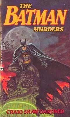 Retro Reviews: The Batman Murders by Craig Shaw Gardner