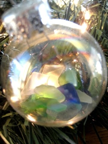 filled ball ornament