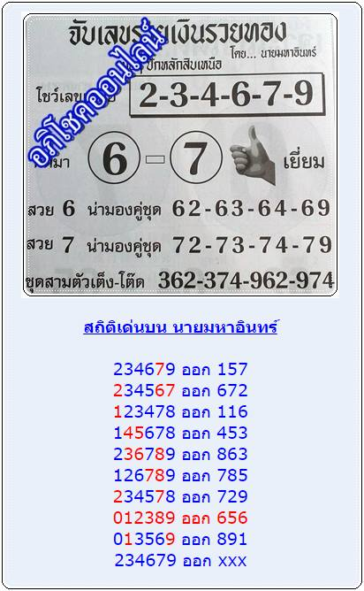 thailand lottery tips 123 lotto