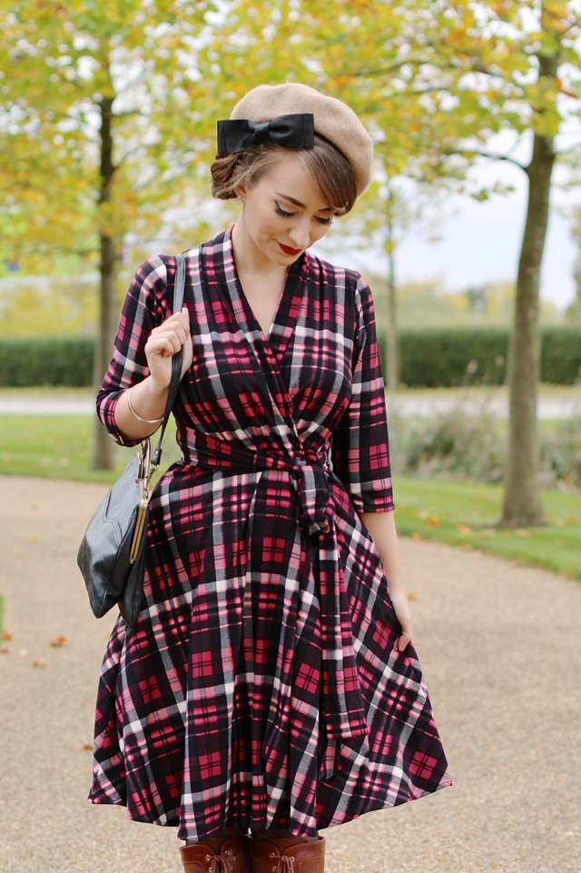 Ruby dress in red plaid by Karina Dresses review