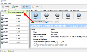 Cara Flashing Coolpad 5218S dengan mudah