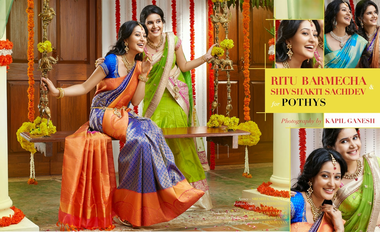 , Ritu Barmecha & Shivshakti Sachdev for POTHYS