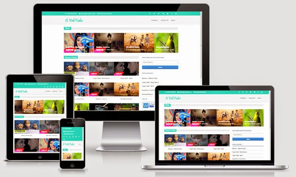 VebTube Video Blogger Template Demo and Download Link. Features of VebTube Video Blogger Template.