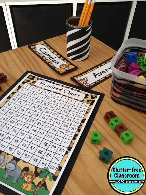Classroom Ideas Printables ~ Jungle safari themed classroom ideas printable