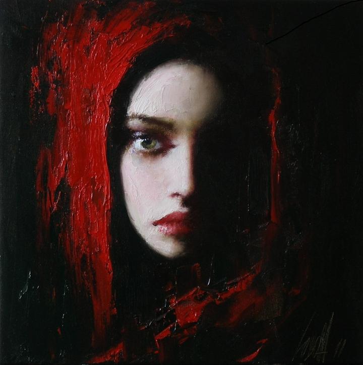 Famous Female Actress Portraits Paintings