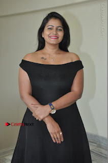 Telugu Actress Swathi Reddy Latest Stills in Black Gown  0016.JPG
