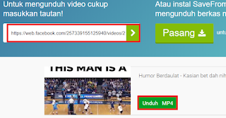 cara download video facebook di pc