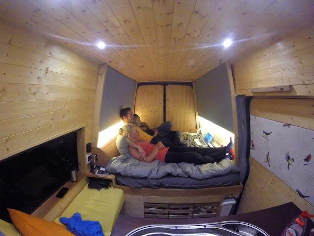 van conversion bed