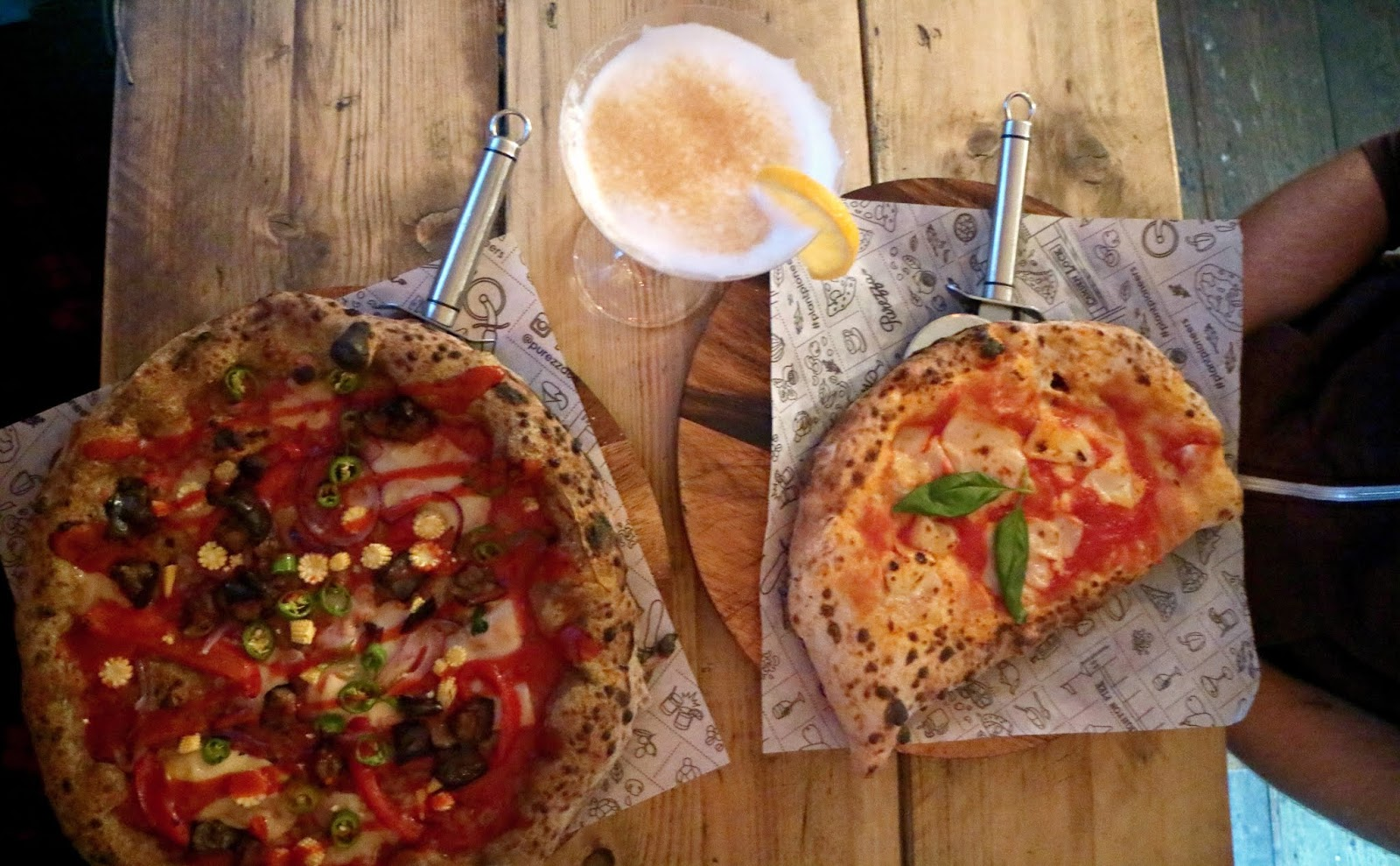 Perfect Plant Based Pizza At Purezza Shy Strange Manic