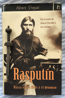 Portada del libro Rasputín, de Henri Troyat