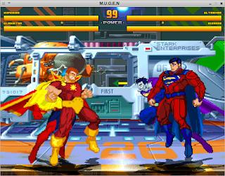 Superheroes Hiperion Ultraman Bizarro Gladiador Mugen