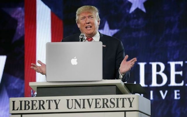 Donald Trump arremete contra la empresa Apple