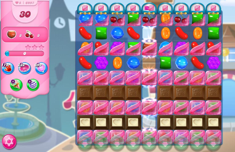 Candy Crush Saga level 6997