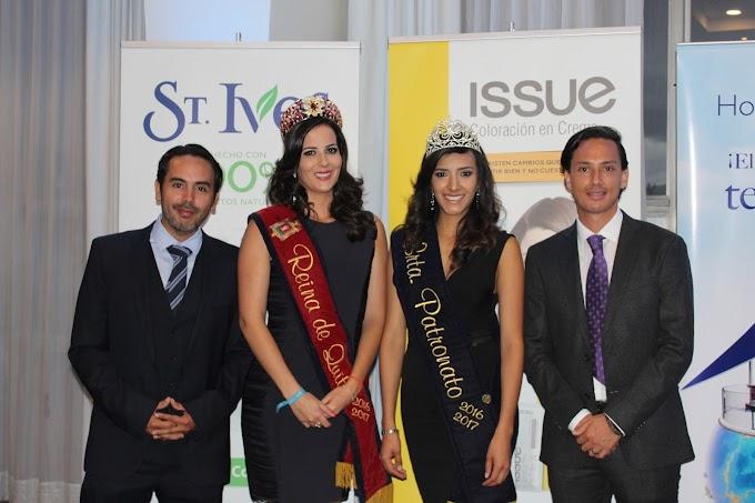 Directivos de las marcas St. Ives e Issue asistieron a la presentación de candidatas a Reina de Quito 2017