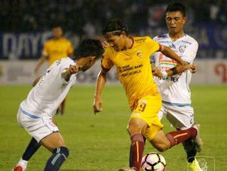 Sriwijaya FC vs Arema FC 3-1