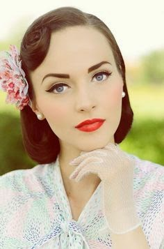 29 vintage makeup looks ideas for christmas 2014  new