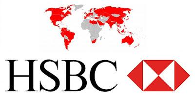 وظائف بنك HSBC  لحديثي التخرج مطلوب تيلرات