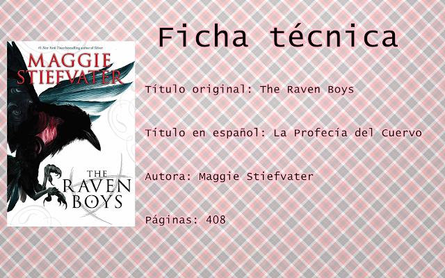 """Reseña """"The Raven Boys"""""""