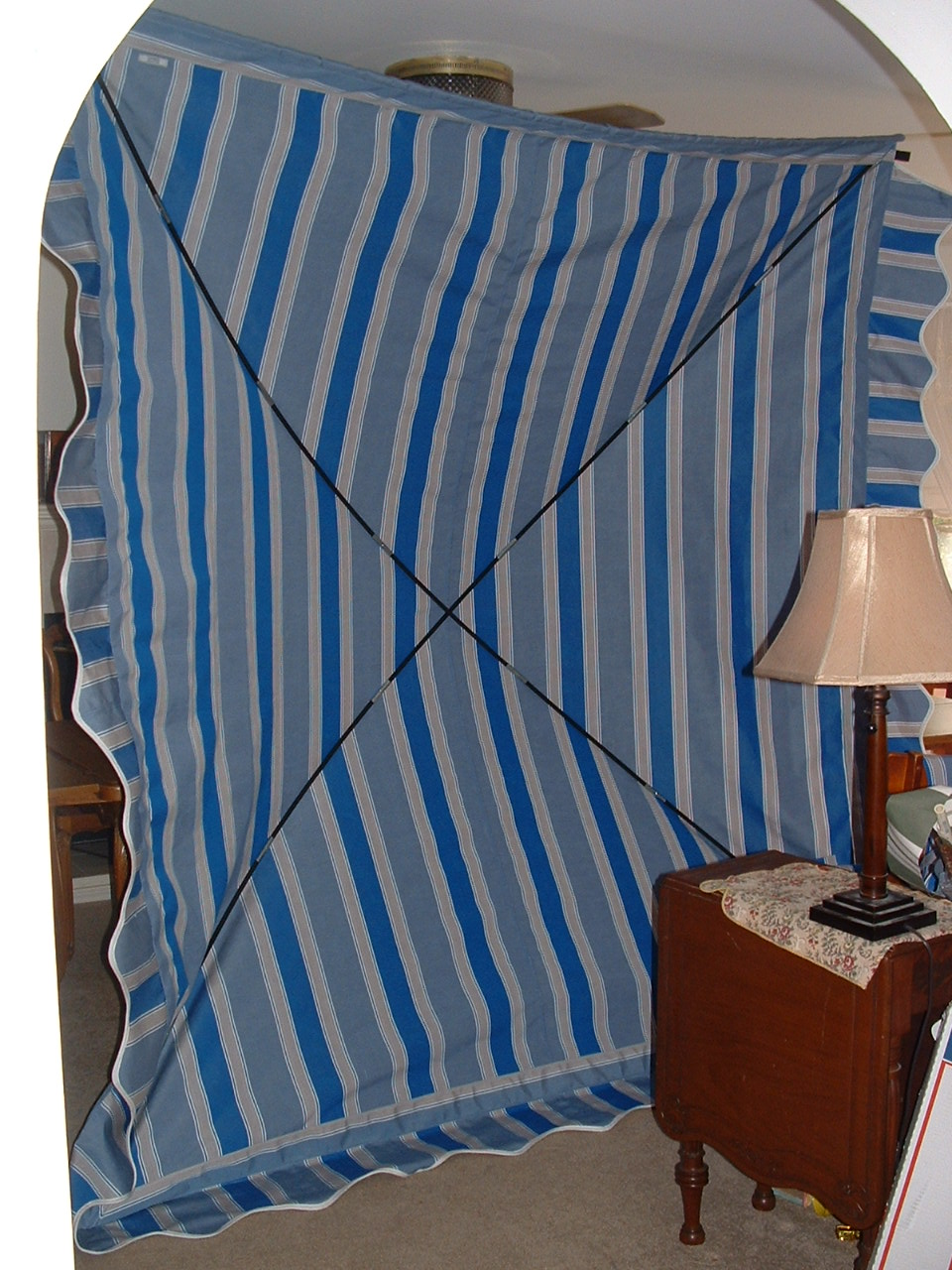 Vintage Awnings: Made In The USA Westfalia Bus Awning