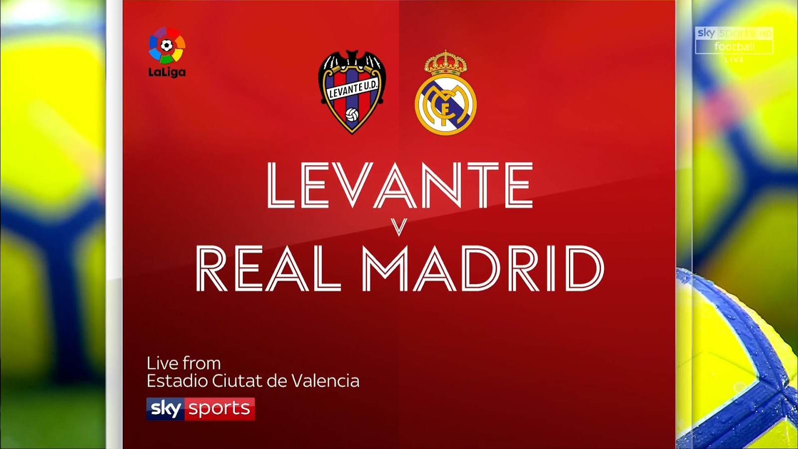 Levante vs. Real Madrid