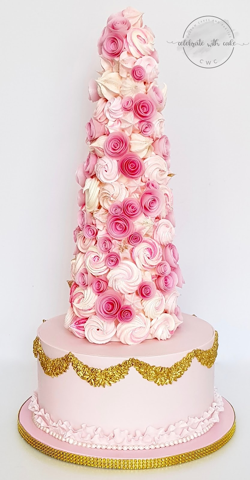 Celebrate with Cake!: Meringue Tower!