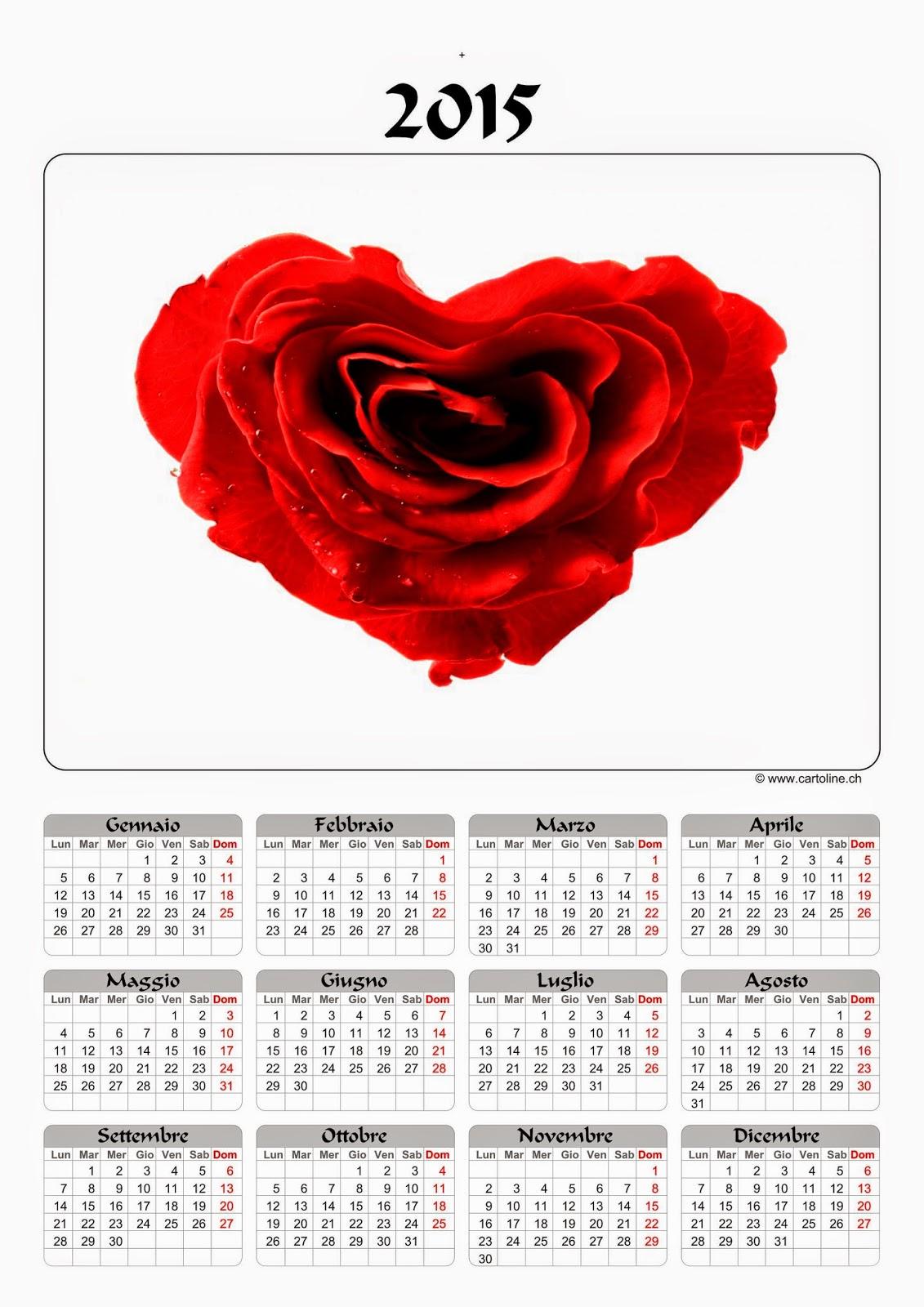 Cartoline Ch Calendario.Appuntinternauta59 Stampa Gratis Il Tuo Calendario 2015