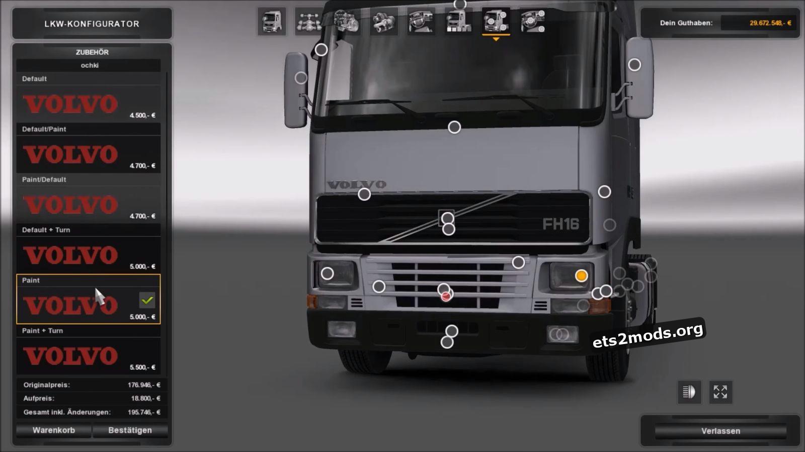 Volvo 12/16 trucks - Generation v 1.2