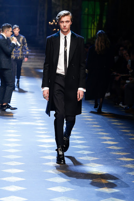 Lucky Blue Smith Dolce & Gabbana Fall Winter