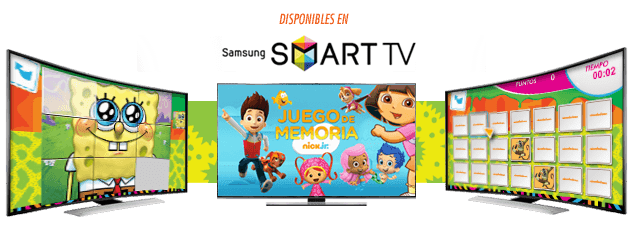 NickALive!: Nickelodeon Spain Launches Interactive Games On Samsung