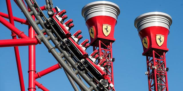 Ferrari Land abrirá sus puertas en Abril, entradas ya disponibles
