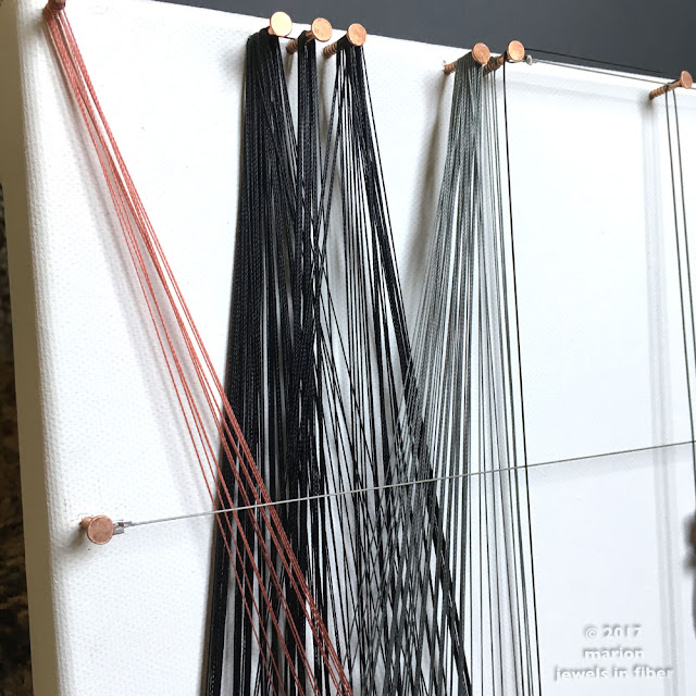 String Art with C-Lon Micro Cord