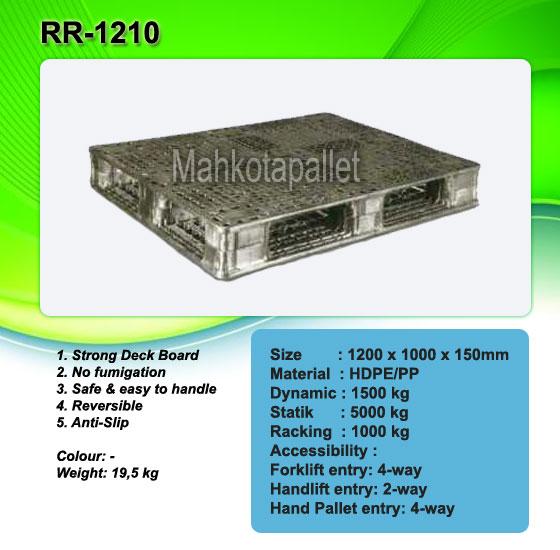 Pallet Plastik RR-1210